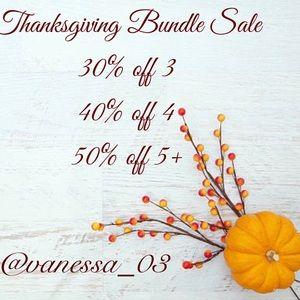 Accessories - Thanksgiving Week Bundle Sale