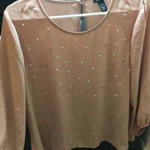 Super cute blouse size large