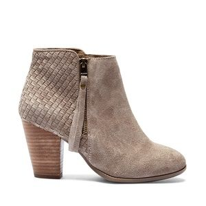 Sole Society Zada Boot Bootie 9 Suede Leather