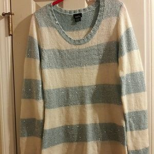Long sleeve sweater with some sparkle