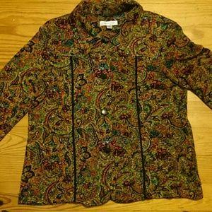 Coldwater creek button down jacket