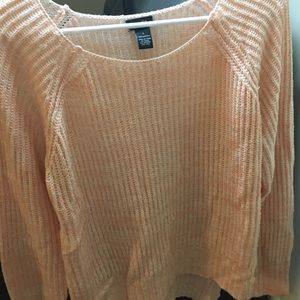 Knit sweater size large