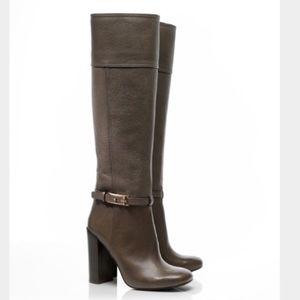 Tory Burch Gray Jenna Knee High Boots