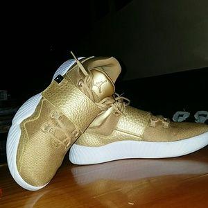 Air Jordan J23 Metallic Gold Cross Training Shoes