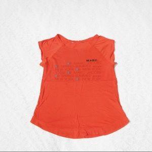 Marc by Marc Jacobs LOGO Dress Top Blouse T-Shirt
