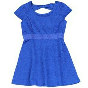 Girl's fashion scuba dress
