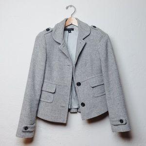 Vintage Banana Republic wool grey blazer