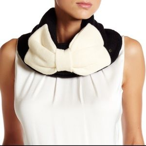Kate spade bow warmer scarves scarf neck