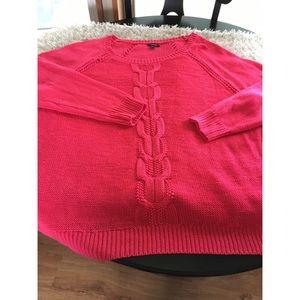 Apt. 9 Oversized Chunky Knit Sweater Size 3X