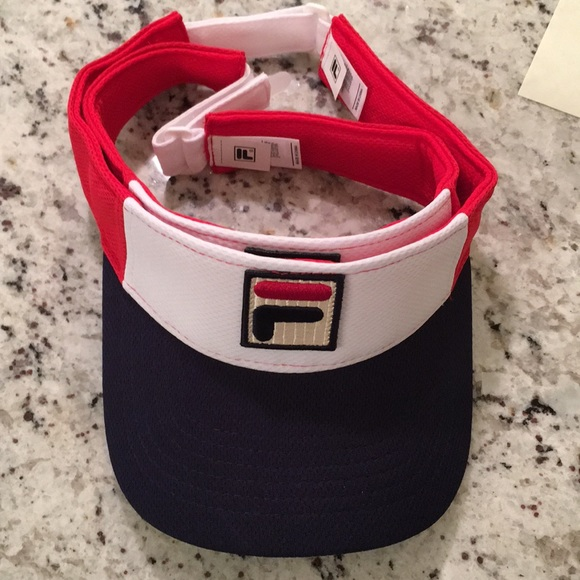 5873af15eb4cdd Fila Accessories | New Limited Edition Team Usa Tennis Visor | Poshmark
