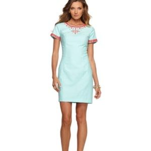 Stunning Lilly Pulitzer Norah beaded sheath dress
