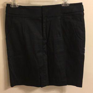 Banana Republic black pencil skirt