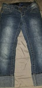 Angel cropped jeans size 3