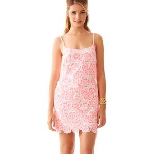 Stunning pink lace Lilly Pulitzer dress