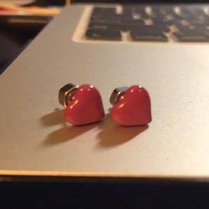 Marc by Marc Jacobs Heart Earrings