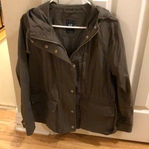 GAP hooded Military Jacket * size L