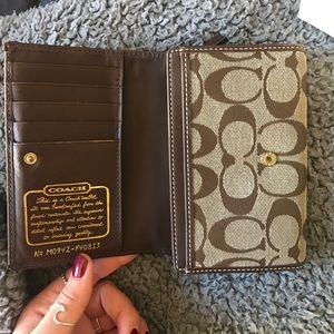 (Coach) wallet