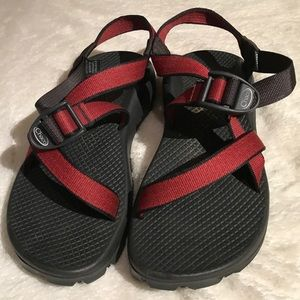 Chaco's Worn Once Red