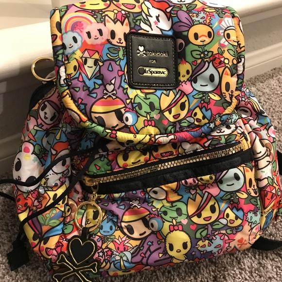 6525fa547d3 Lesportsac Bags   Tokidoki Backpack   Poshmark