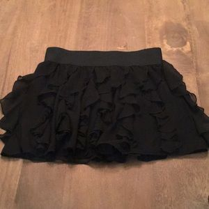 Express Design Studio Ruffle Skirt