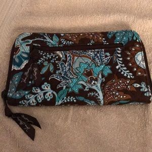 Vera Bradley Zipper Wallet/Wristlet