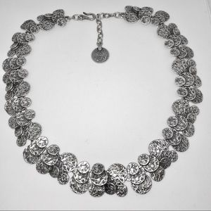 Chanour for Jewelmint NEPAL Silver Disc Necklace