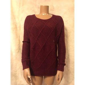 NWT American Eagle Burgundy Sweater