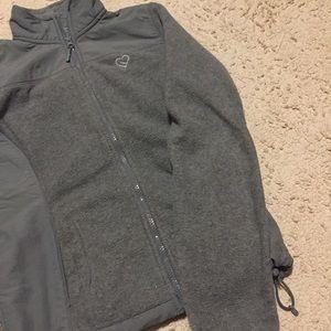 Gray Fleece Utility Jacket