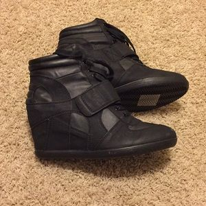 Express Wedge Sneakers