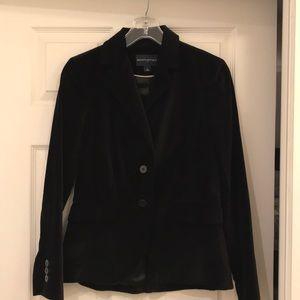 Black velvet Banana Republic blazer