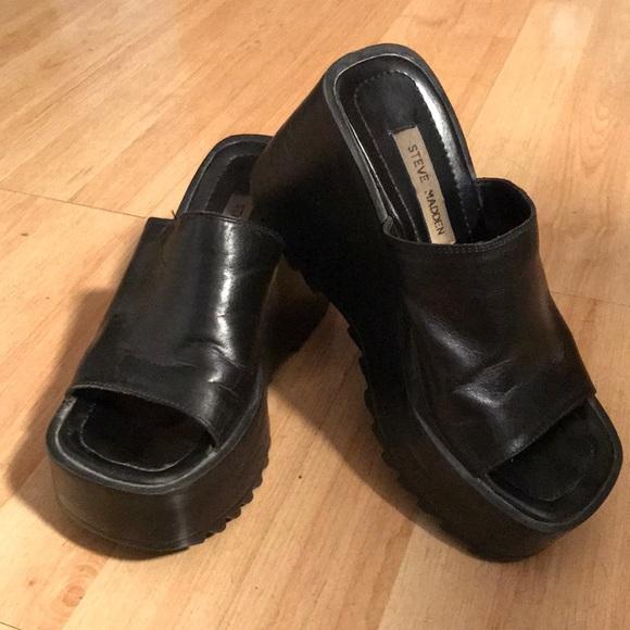 b75decdc2a7 Vintage 80's Steve Madden Chunky Shoes