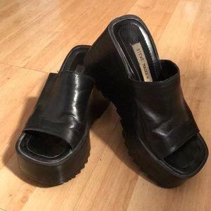 Vintage 80's Steve Madden Chunky Shoes