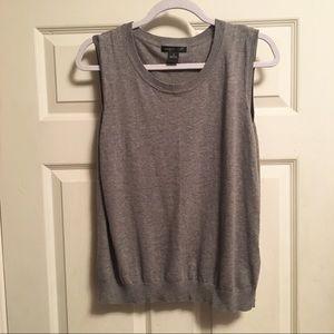 August Silk Sleeveless Sweater