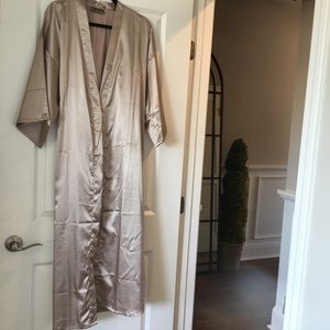 Other - Faux Silk Robe
