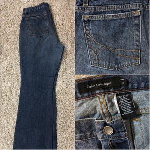 Calvin Klein Size 14 Medium Wash Jeans EUC