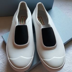Hunter Rain Shoe Slip Ons