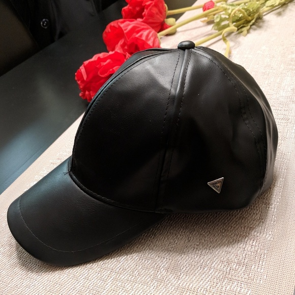 d9fdbd92919 Guess Accessories - New Guess Faux Leather Baseball Cap! ⚾