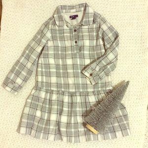 BabyGap plaid dress.