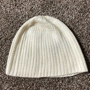Express White Sequin Beanie