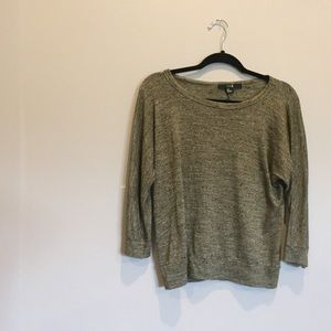 Olive Green forever 21 quarter sleeve top size S