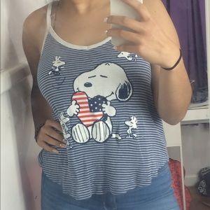 Snoopy Tank Top