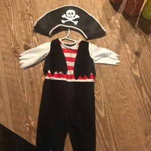 12 Month old Pirate Costume Boy