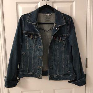 Levi's Authentic medium wash jean jacket