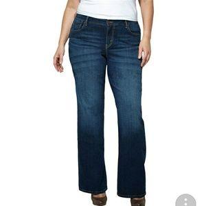 Levi's 580 Bootcut Jeans Size 20