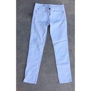 Gap 1969 Always Skinny White Jeans