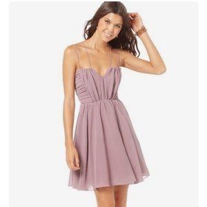 American Rag mauve dress