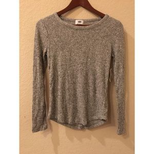 Old navy thin ribbed sweater top