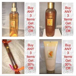 VS Amber Romance 4 full size items new vintage