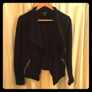 Mossimo black cotton jacket