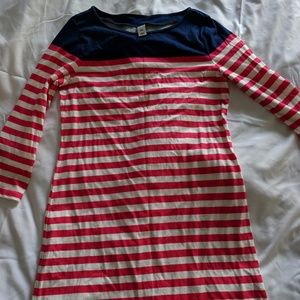 NWT Old Navy Striped Knee length dress Size S